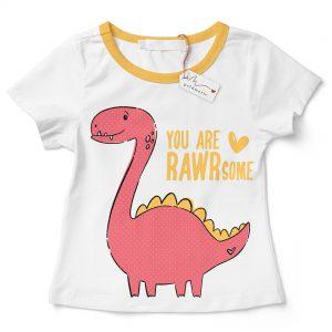 GOLDMARIE Plotterdatei - Dinosaurier, You are RAWsome