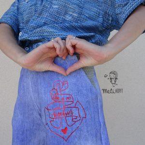 GOLDMARIE Plotterdatei - Love is my Anchor