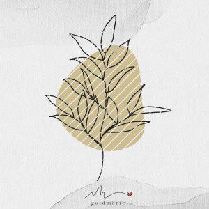 GOLDMARIE Plotterdatei - One Line Florals Farn